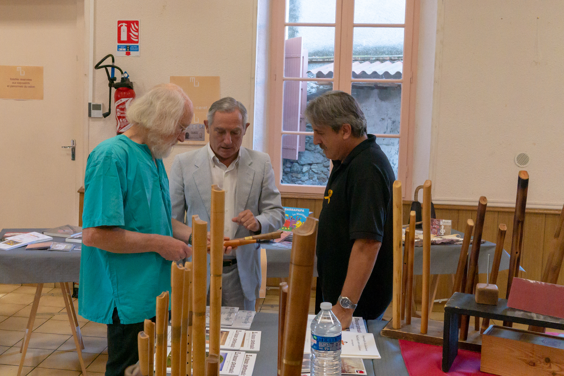 Philippe Bolton, Romà Escalas et Francesc Sans Sastre - Festa del Joglar 2018