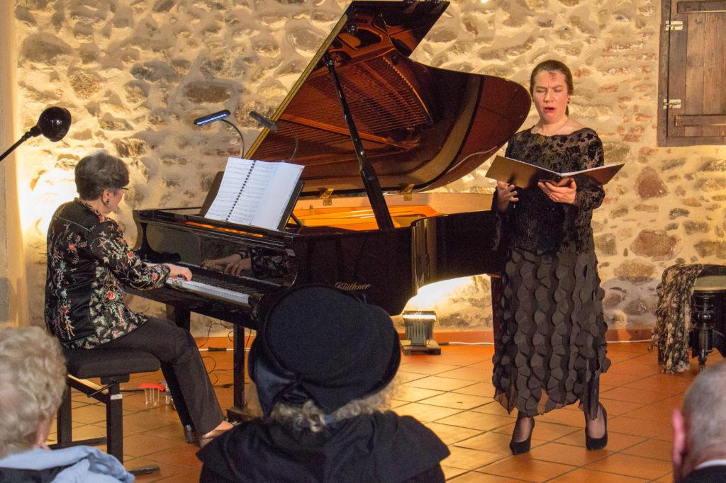 MúSIC musée des instruments de Céret - Journées Déodat de Séverac 2018 - Françoise Tillard et Françoise Masset