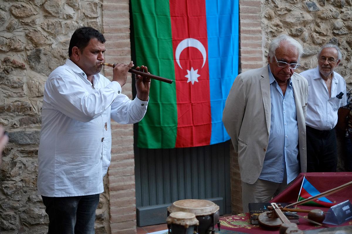 Jeyhun Aydinoglu et Alain Torrent