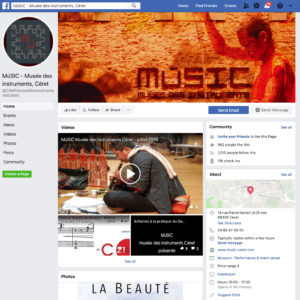 facebook MùSIC CIMP Céret