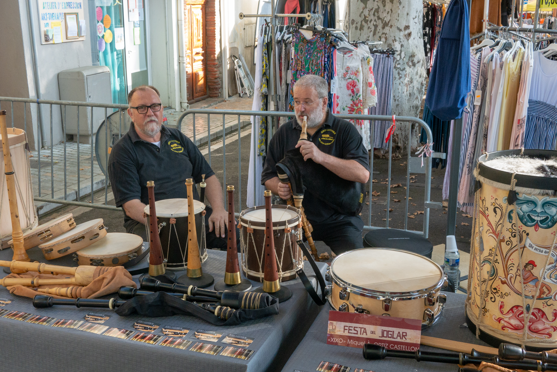 Stand Xixo Luthier - Festa del Joglar 2018