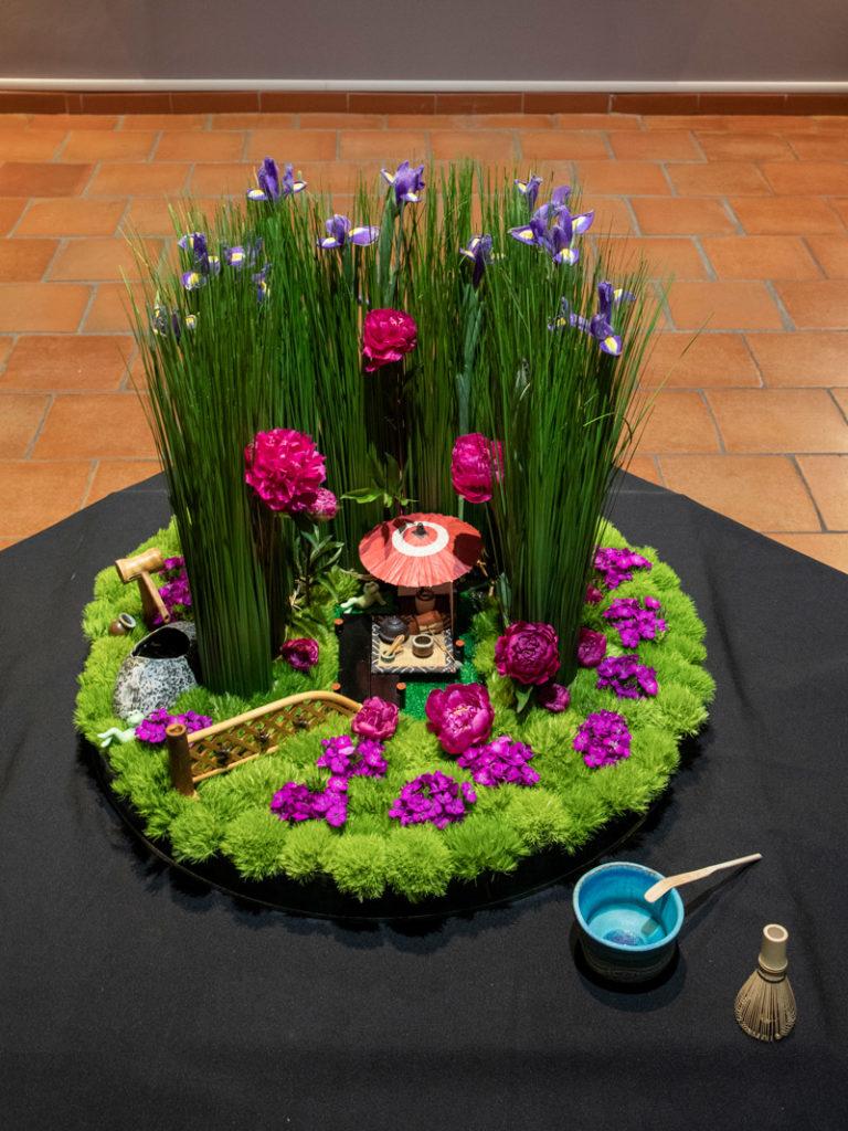 La cérémonie du Thé par Rika HOSONO